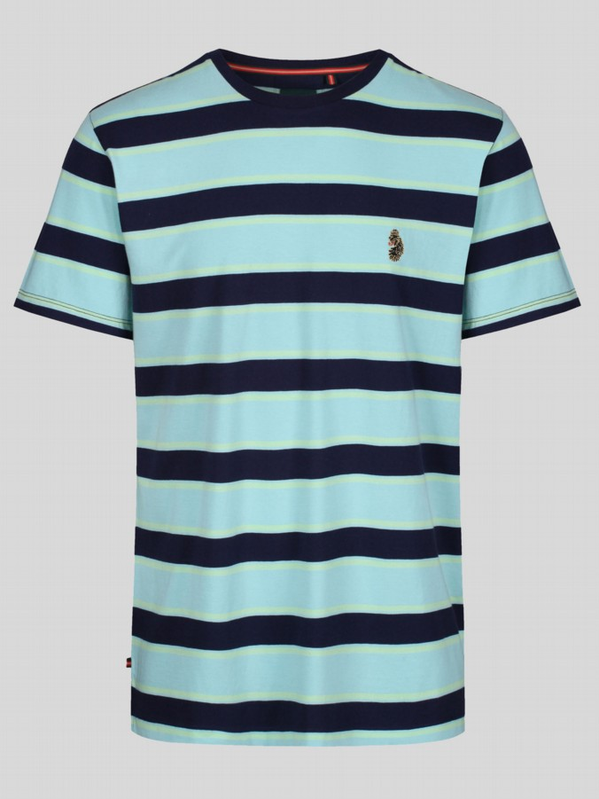 GULATI STRIPED CREW T-SHIRT