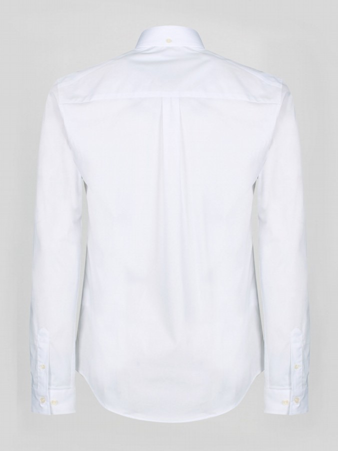 ON TRAMPOLINE L/S MIXED FABRIC SHIRT