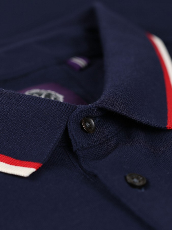 MARSEILLE TIPPED COLLAR DETAIL POLO