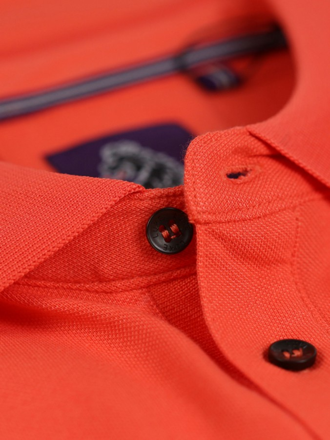 BILLIANT NEWS S/S TIPPED DETAIL POLO