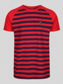 RAGLAN STRIPE T-SHIRT