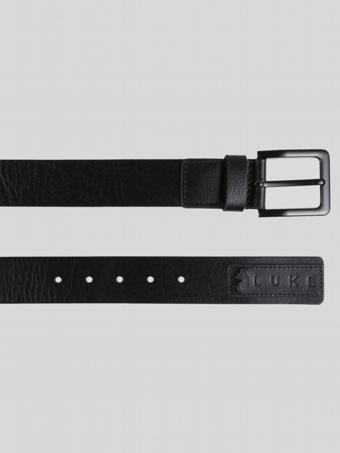 RUTLAND LEATHER PATCH BELT