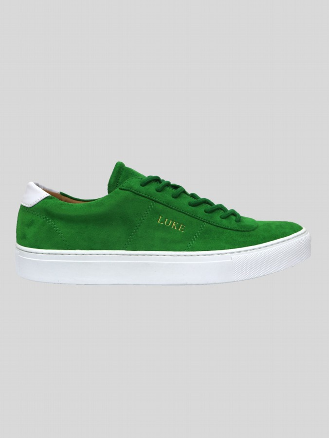 PALM MICROFIBRE SUEDE LOW CUT TRAINER