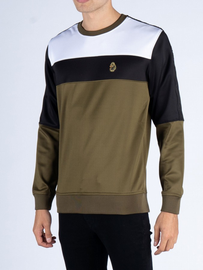 LOKI COLOUR BLOCK SWEAT