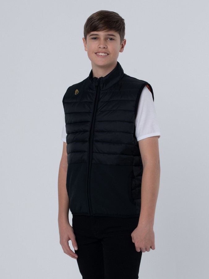 MR BUBBLA QUILTED GILET JNR