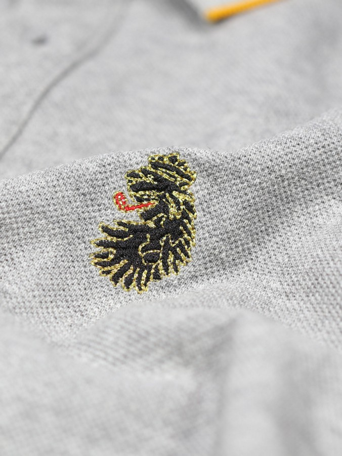RICKY GOLD TIPPED S/S POLO