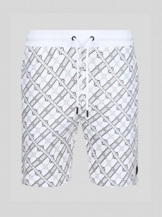 WHAT HAVE YOU DONE ALL OVER PRINT SWEATSHORTS