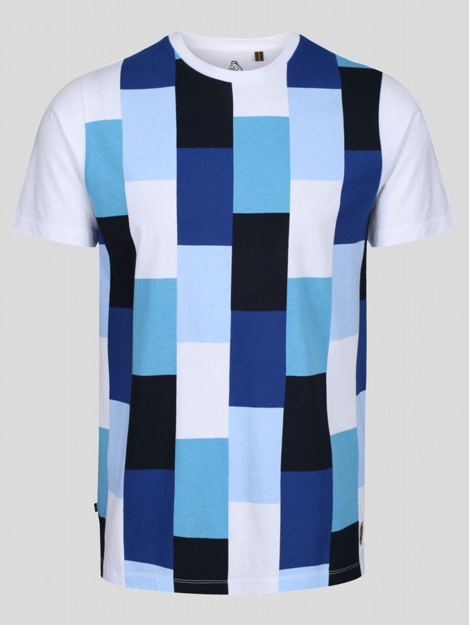 GUSTY SPORT COLOUR BLOCK T-SHIRT
