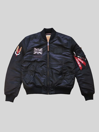 ALPHA X LUKE MA1 JACKET
